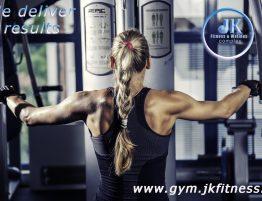 Волейболистката Страшимира Филипова -силова тренировка по системата JK Fit Motion, в JK GYM Nautilus. www.fitmotion.eu