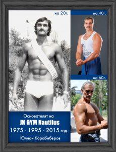 Експериментът на основателят на JK GYM Nautilus - Юлиан Карабиберов