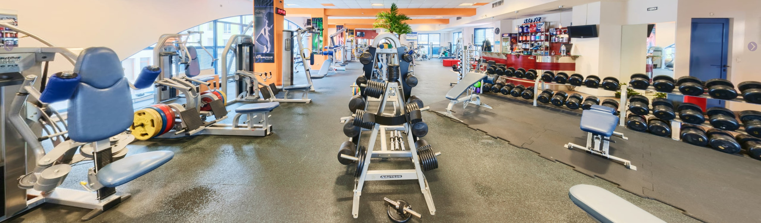 "Зала за силов фитнес — JK Fitness Gym — Сектор ""Свободни тежести"""