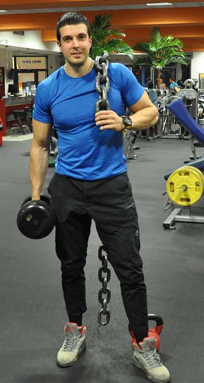 Цветелин Иванов - инструктор - JK Fitness